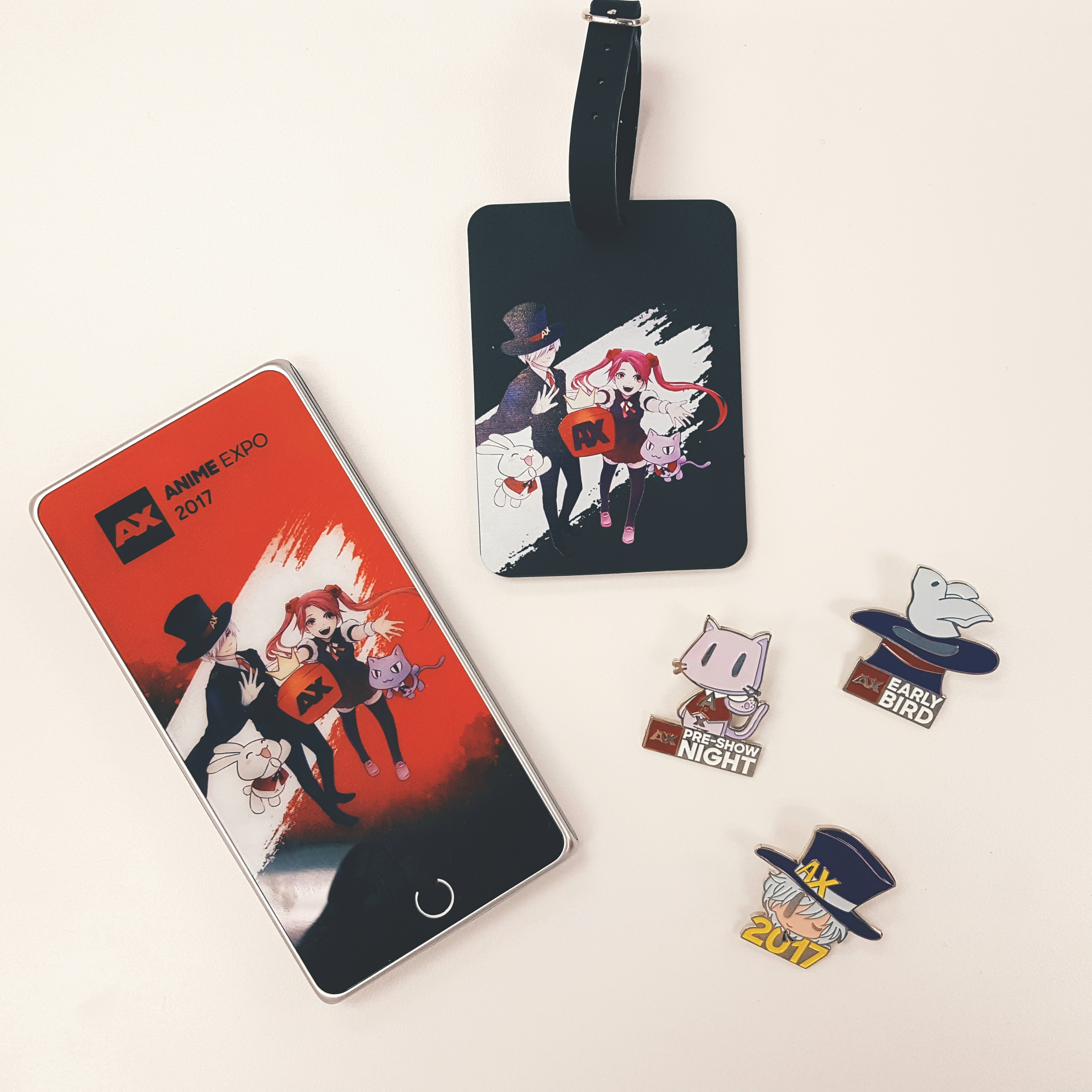 Anime Expo 2019 Badges: AX 2017 Merchandise Preview: Part One~!