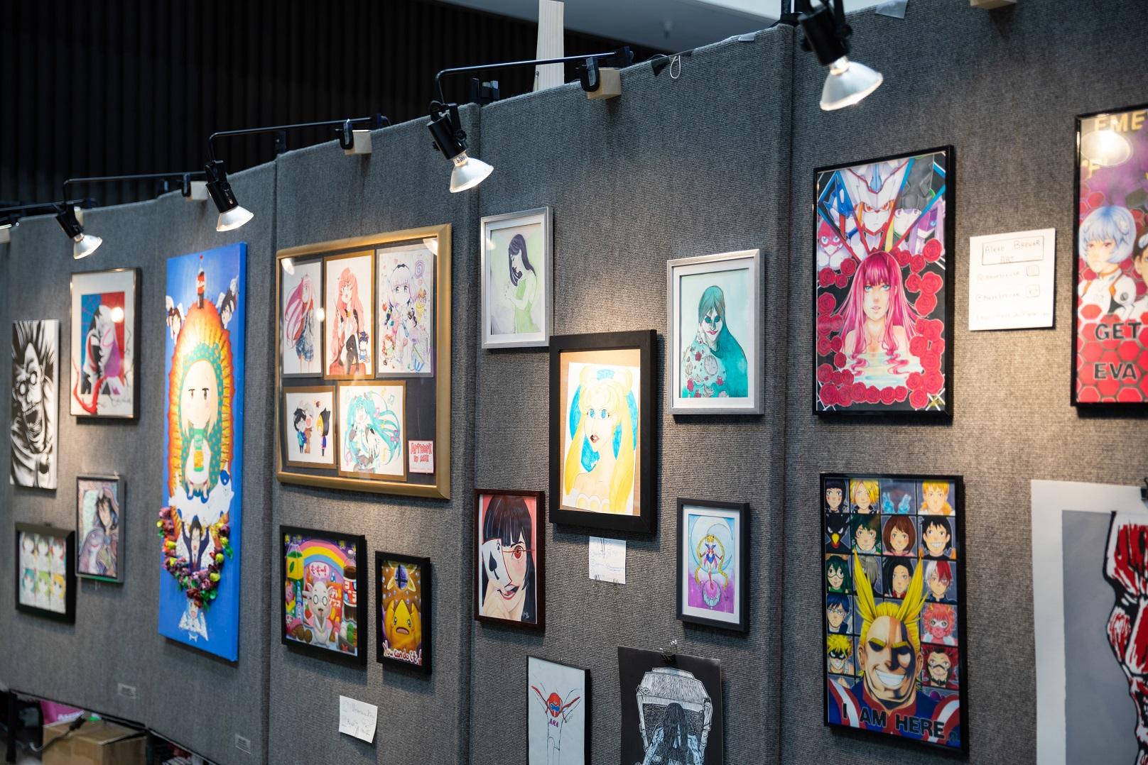 Anime Expo Art Shows Los Angeles Anime Convention