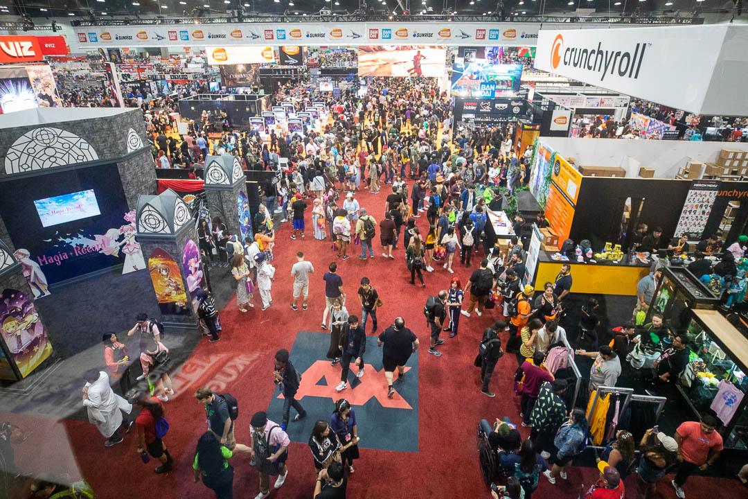 Anime Expo Exhibit Los Angeles Anime Convention