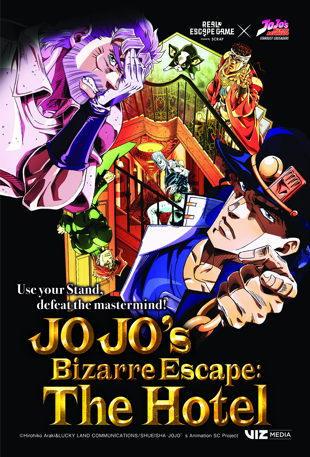 JOJOS BIZARRE ESCAPE THE HOTEL Is Headed To Anime Expo