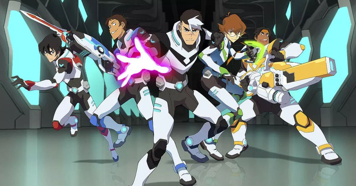 It's just a picture of Dramatic Images of Voltron