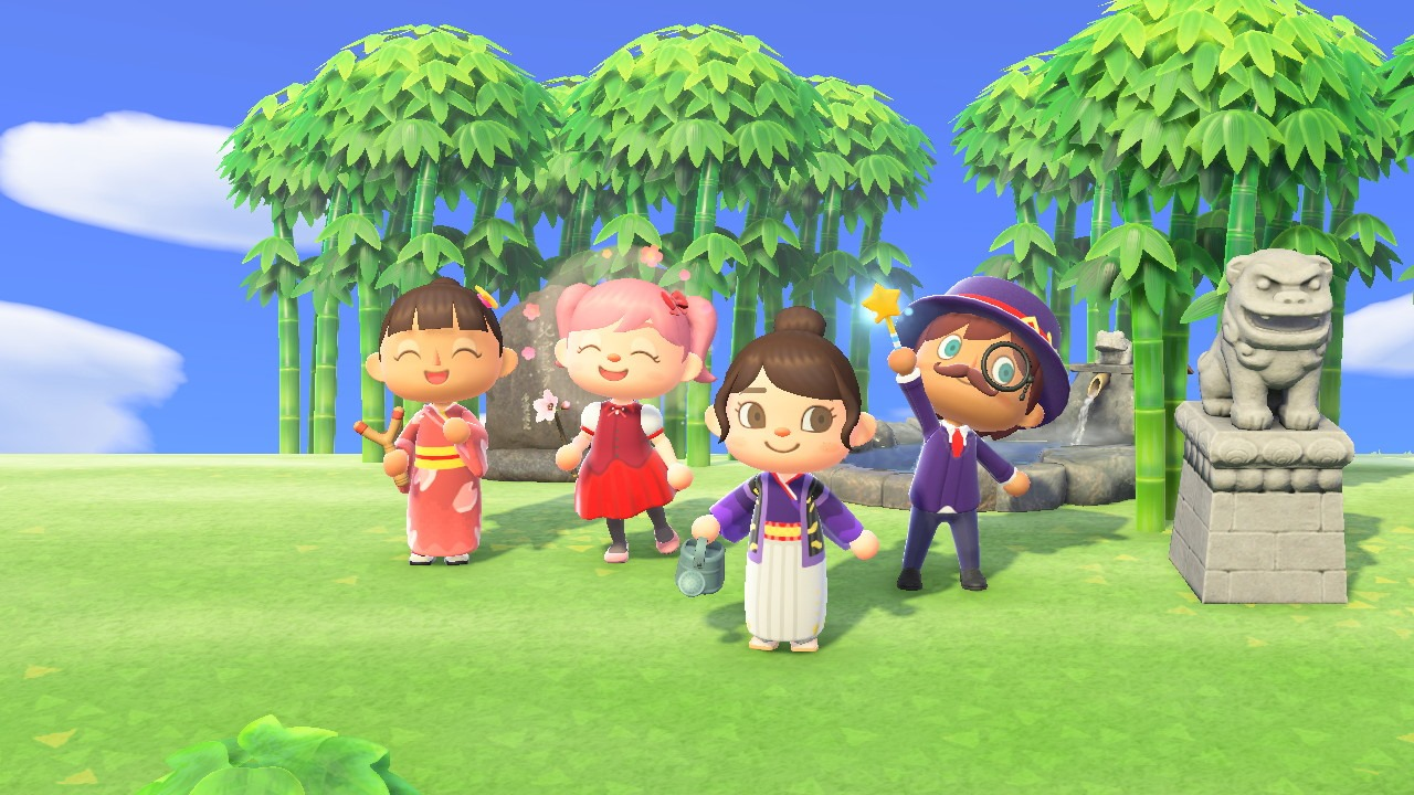 Ax Designs For Your Animal Crossing New Horizons Island Anime Expo