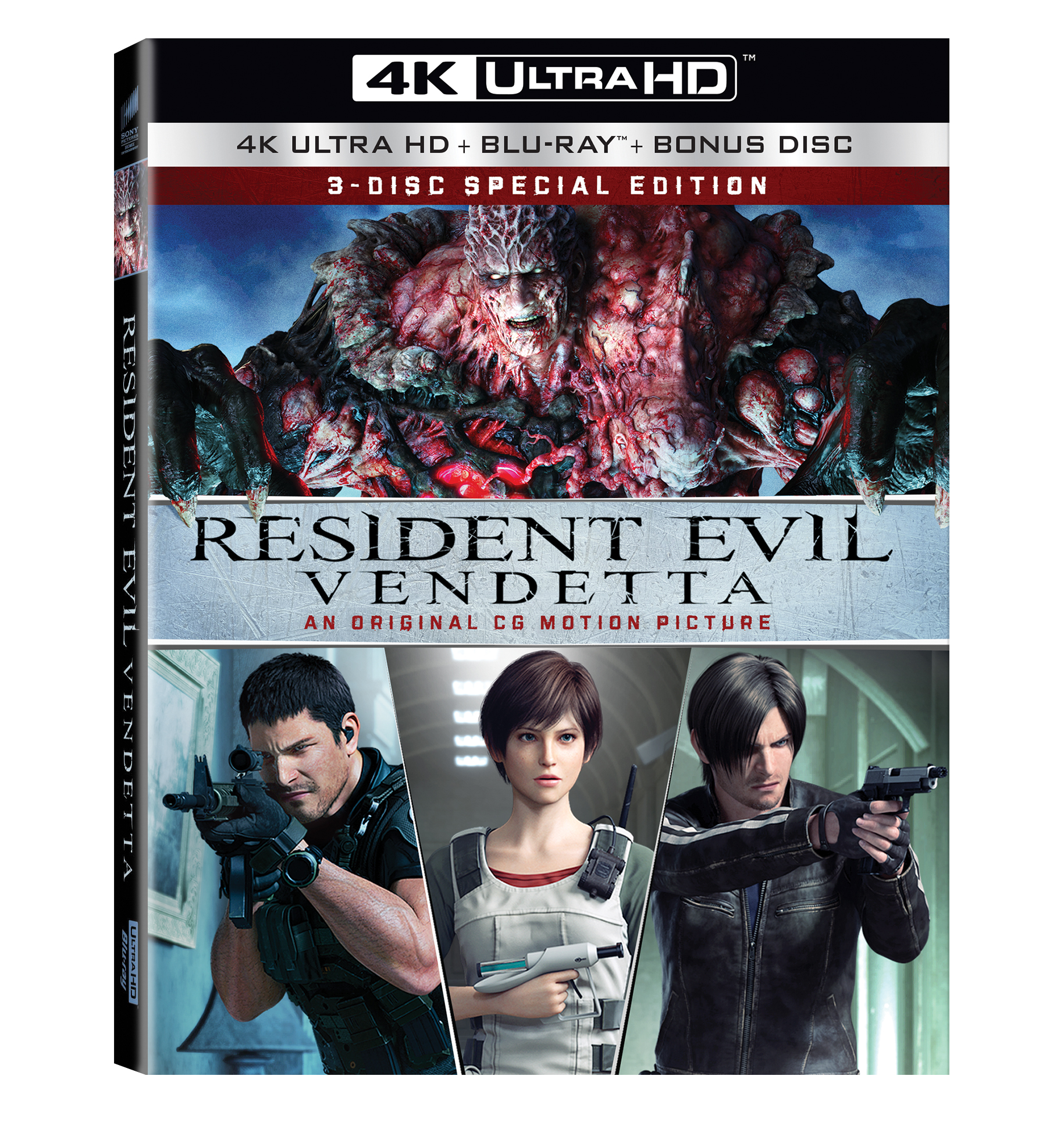 Resident Evil Vendetta Screening And Q A With English Voice Cast