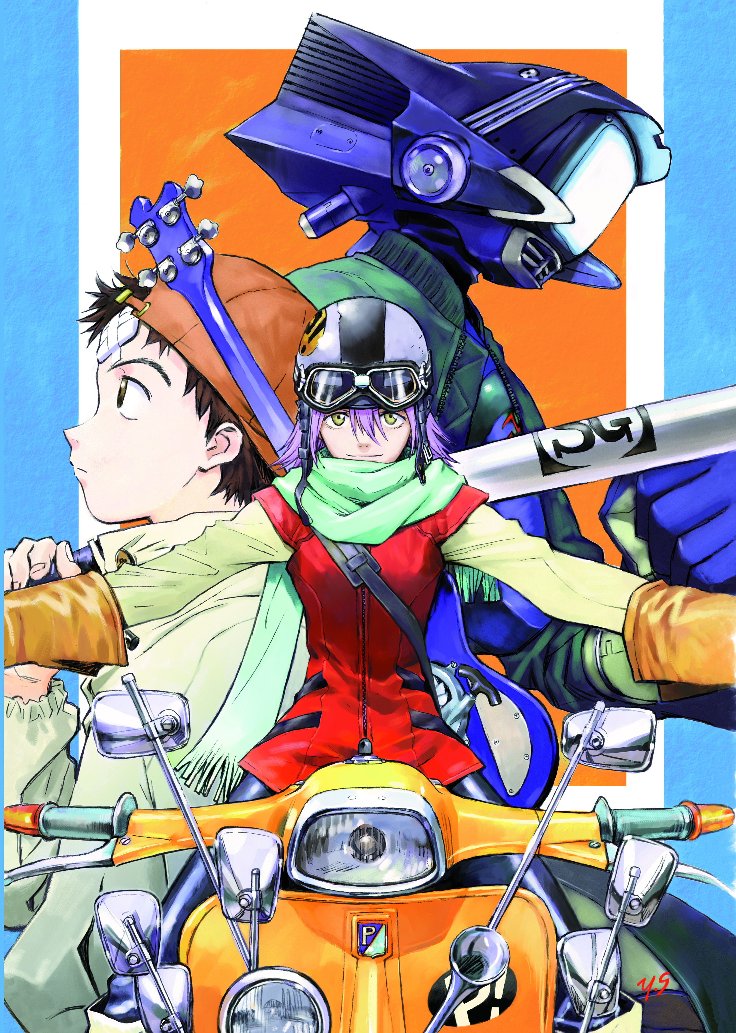 production i g  to present flcl 2 panel with creator and