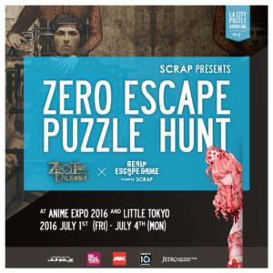 Zero Escape Puzzle Hunt - Instagram
